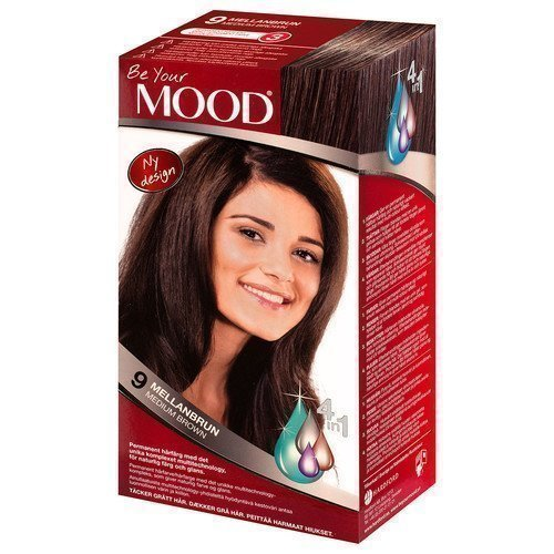 Mood Haircolor 9 Medium Brown