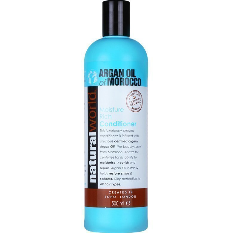 Moroccan Argan Oil Moisture Rich Conditioner 500ml
