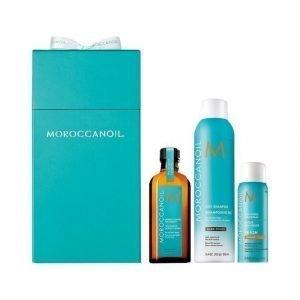 Moroccanoil Cleanse & Go Brunette Lahjapakkaus