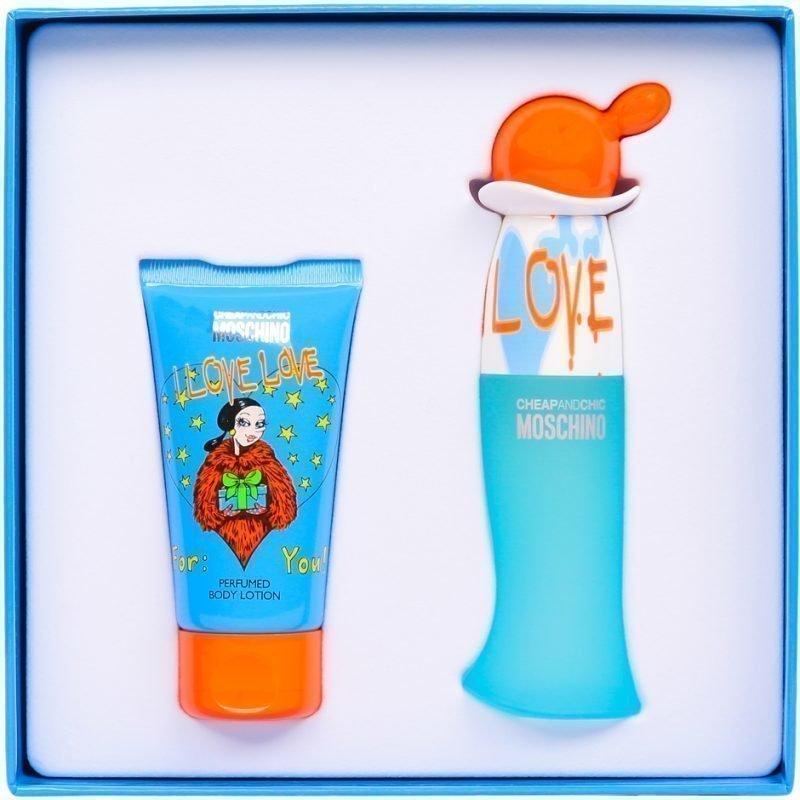Moschino I Love Love EdT 30ml Body Lotion 50ml