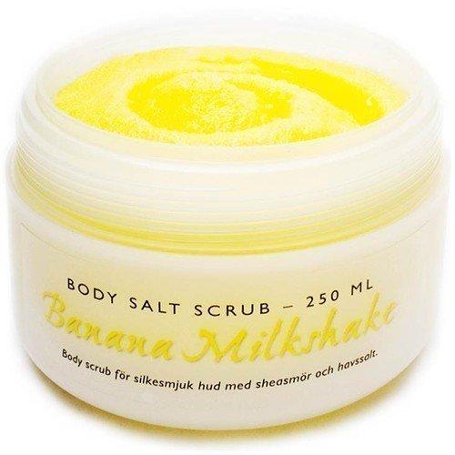Moyana Corigan Body Salt Scrub Banana Milkshake 250 ml