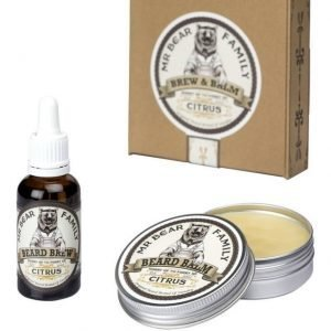 Mr Bear Family Balm & Brew Citrus
