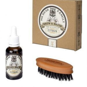 Mr Bear Family Brew & Brush Citrus