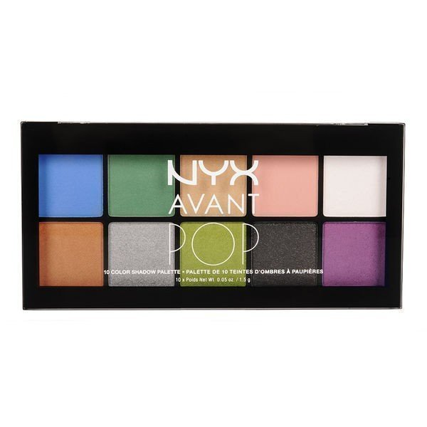 NYX Avant Pop Eyeshadow Palette