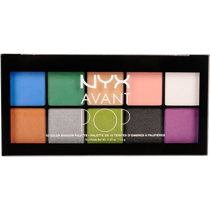 NYX Avant Pop! Shadow Palette APSP01 Art Throb