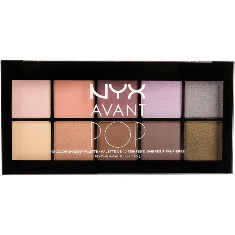 NYX Avant Pop! Shadow Palette APSP03 Nouveau Chic