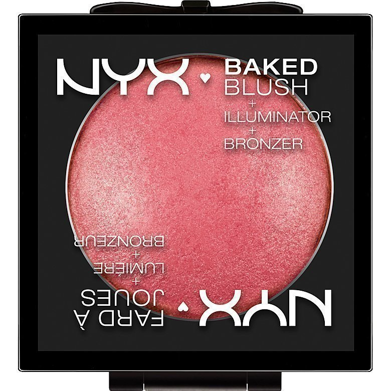 NYX Baked Blush BBL02 Statement Red 6