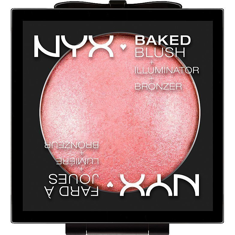 NYX Baked Blush BBL07 Spanish Rose 6