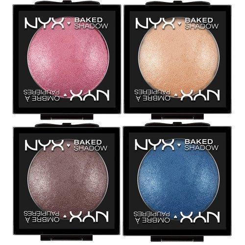 NYX Baked Eyeshadow Violet Smoke