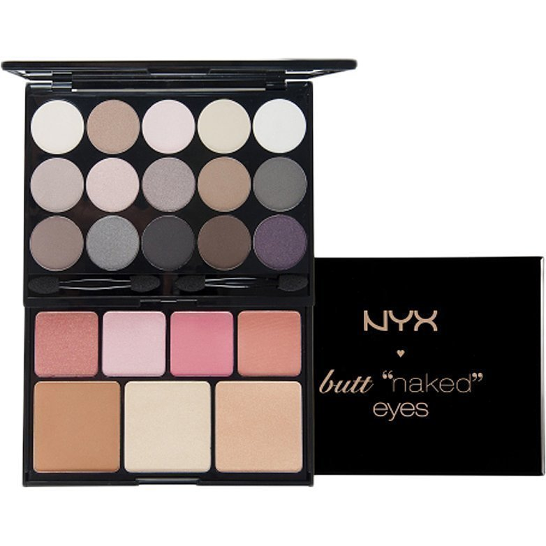 NYX Butt Naked S122 Eyes Palette