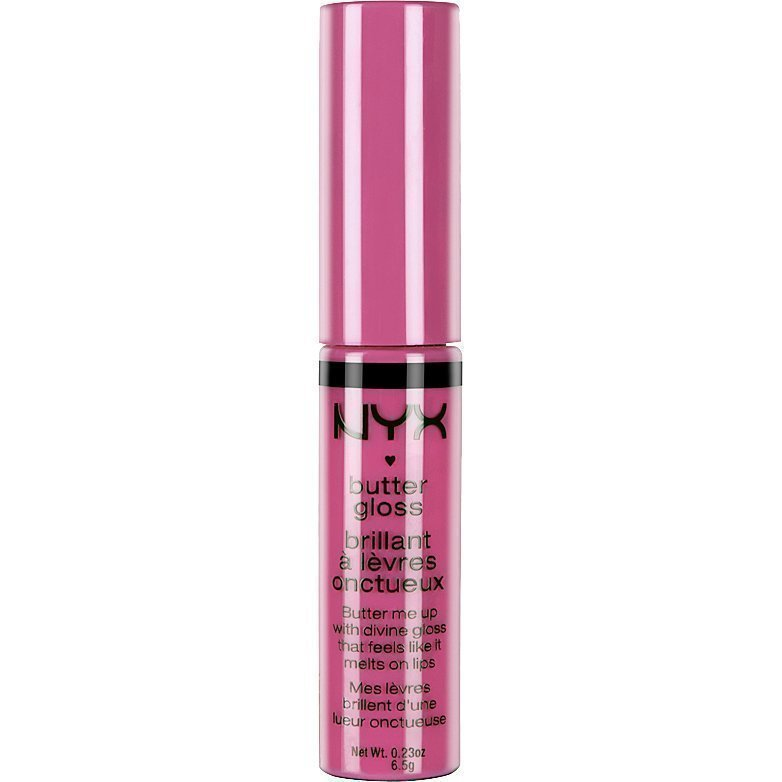 NYX Butter Gloss BLG01 Strawberry Parfait 8ml