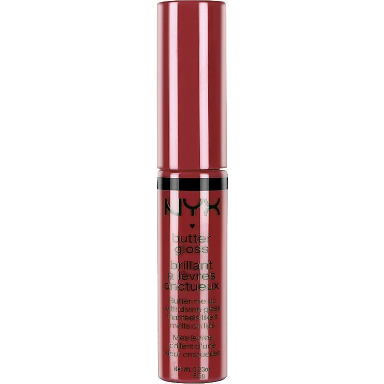 NYX Butter Gloss BLG12 Cherry Pie 6