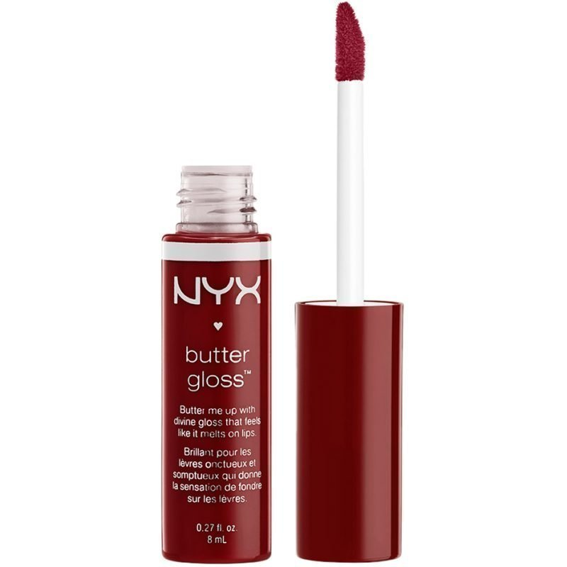 NYX Butter Gloss BLG27 Red Wine Truffle 6
