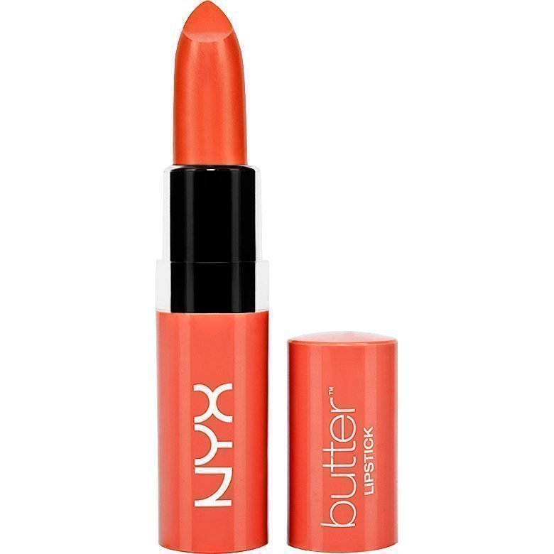 NYX Butter Lipstick BLS10 Hot Tamale 4