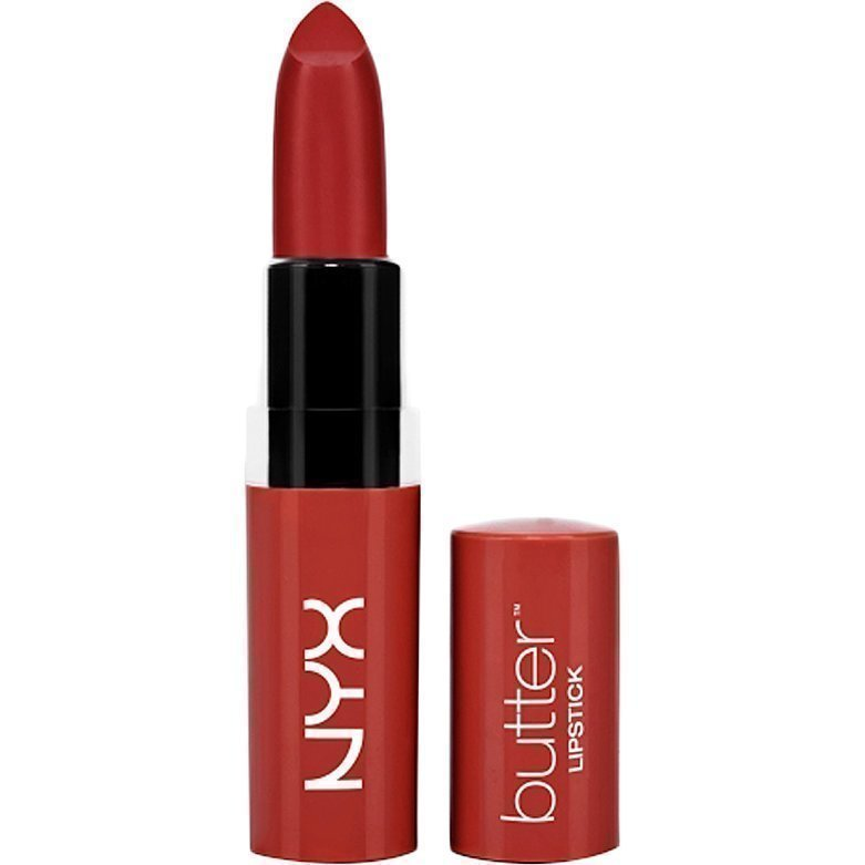 NYX Butter Lipstick BLS19 Big Cherry 4
