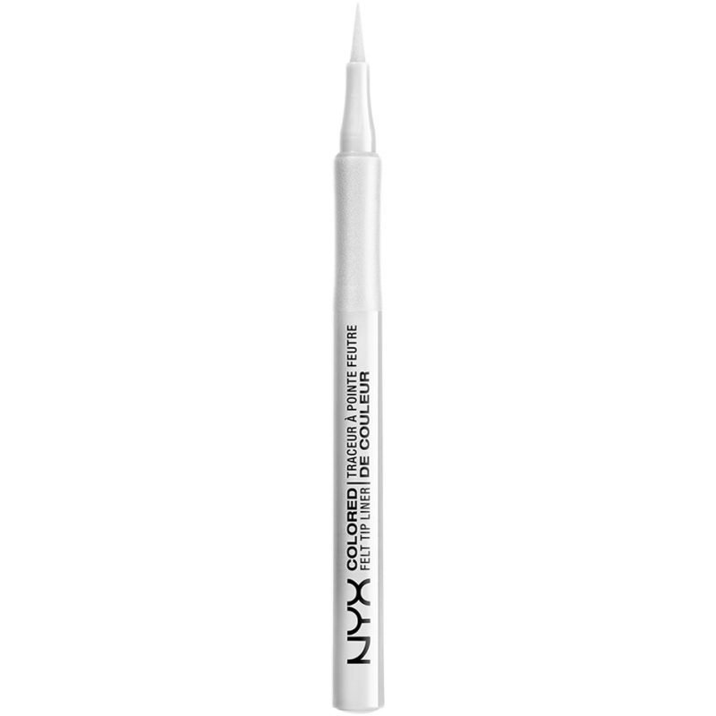 NYX Colored Felt Tip Liner CFTL03 White 0