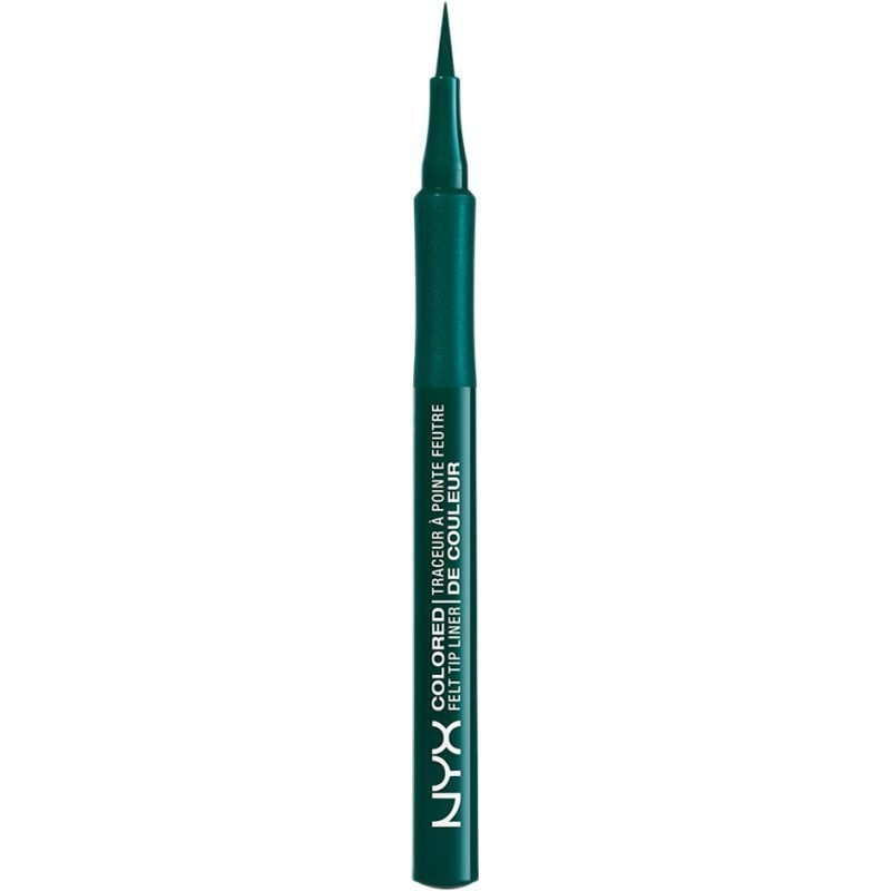 NYX Colored Felt Tip Liner CFTL04 Teal 0