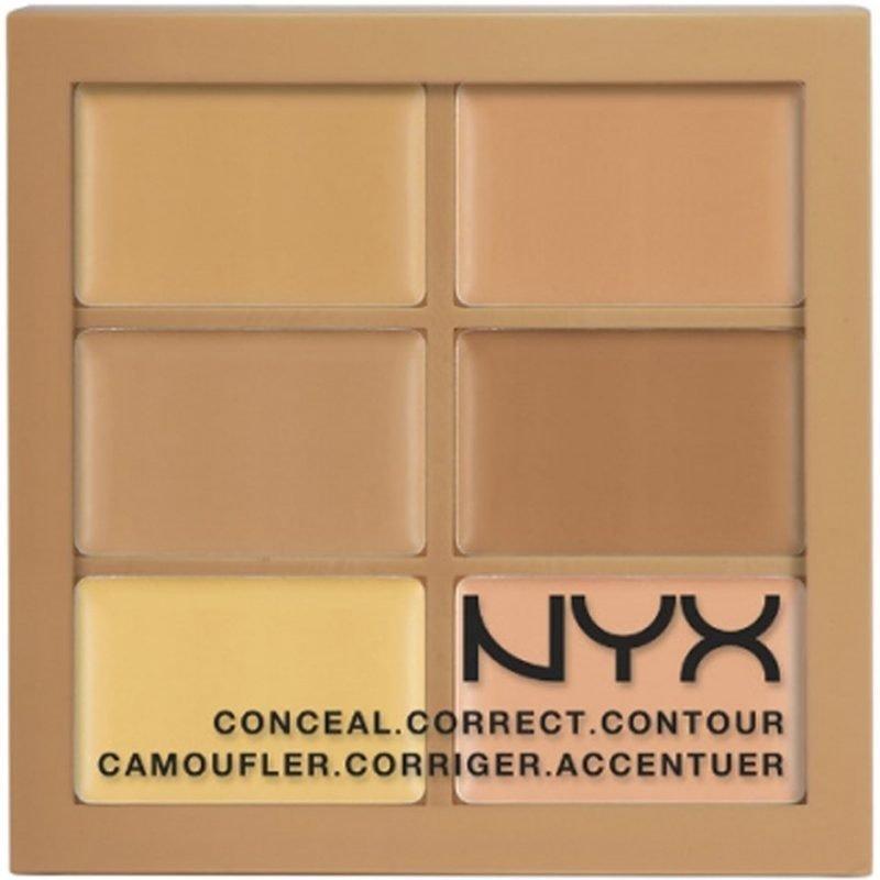 NYX Conceal Correct Contour Palette 3CP01 Light