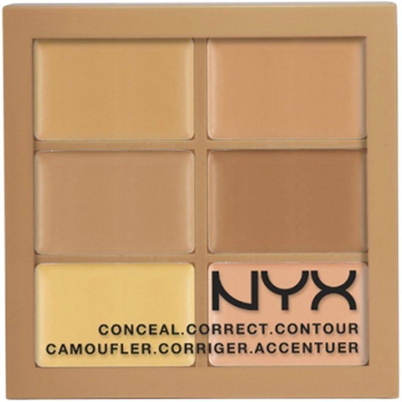 NYX Conceal Correct Contour Palette 3CP02 Medium