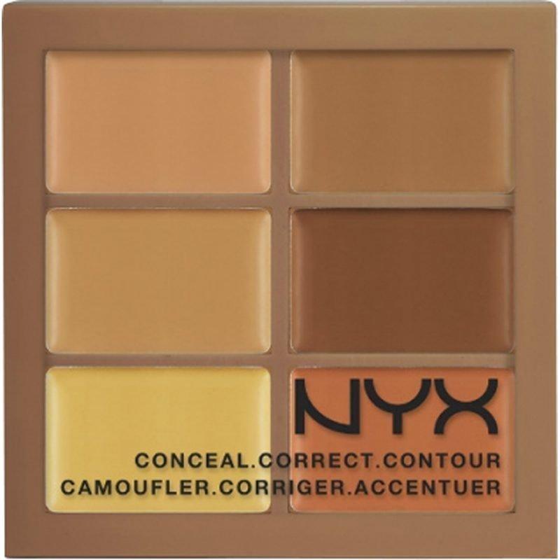 NYX Conceal Correct Contour Palette 3CP03 Deep