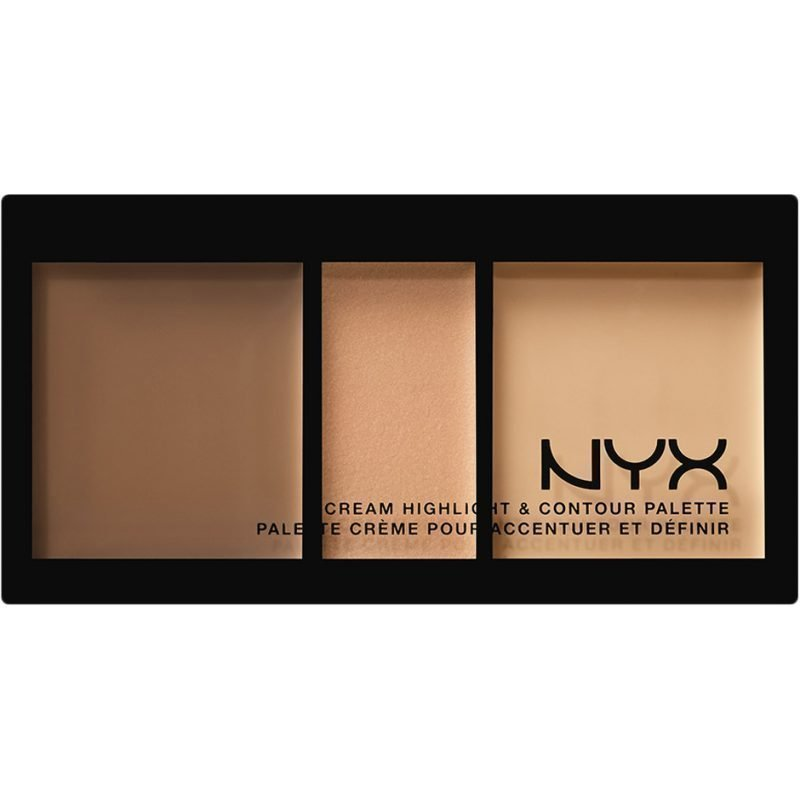 NYX Cream Highlight & Contour Palette CHCP02 Medium 11ml