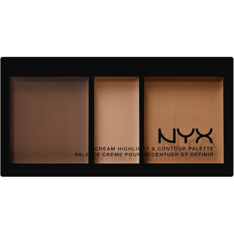 NYX Cream Highlight & Contour Palette CHCP03 Deep 11ml
