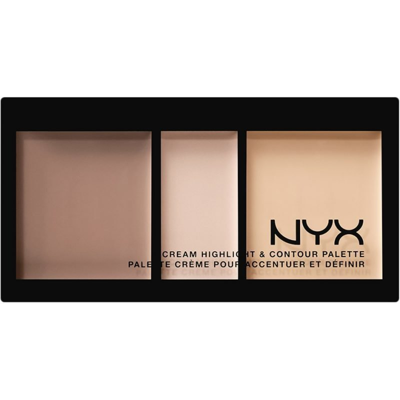 NYX Cream Highlight & Contour Palette CPHP01 Light 11ml