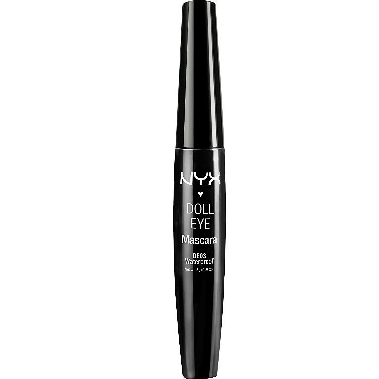 NYX Doll Eye Waterproof Mascara DE03 Black 9g