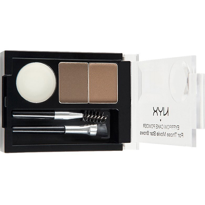 NYX Eye Brow Cake Powder ECP05 Brown 2