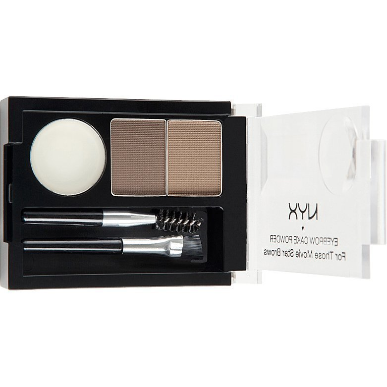NYX Eye Brow Cake Powder ECP06 Blonde 2