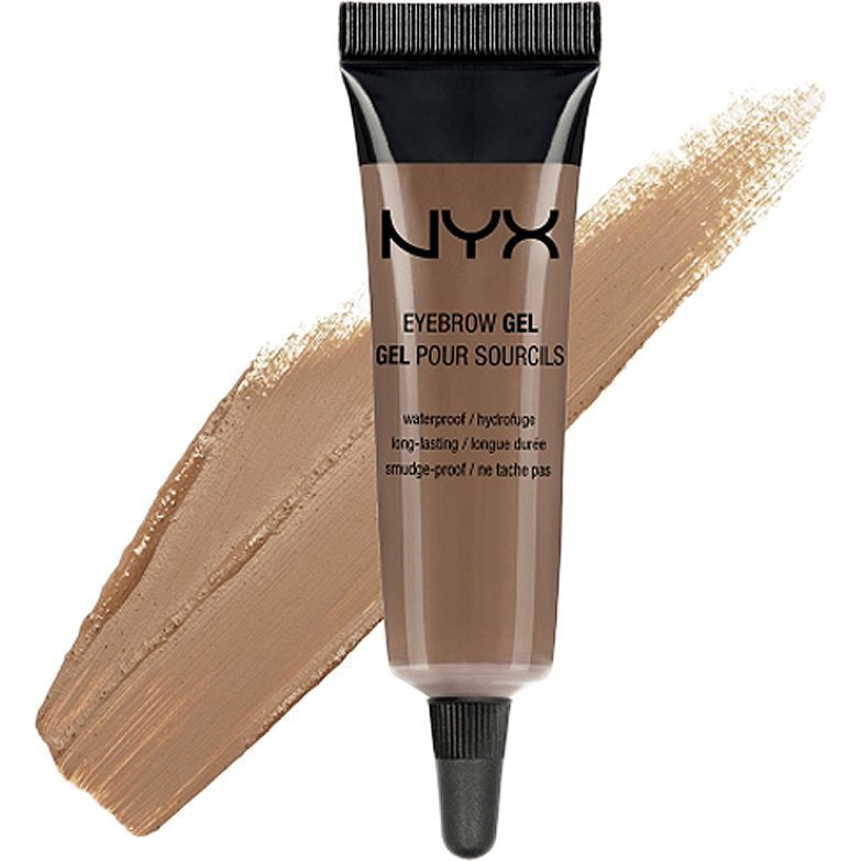 NYX Eyebrow Gel EBG02 Chocolate 10ml