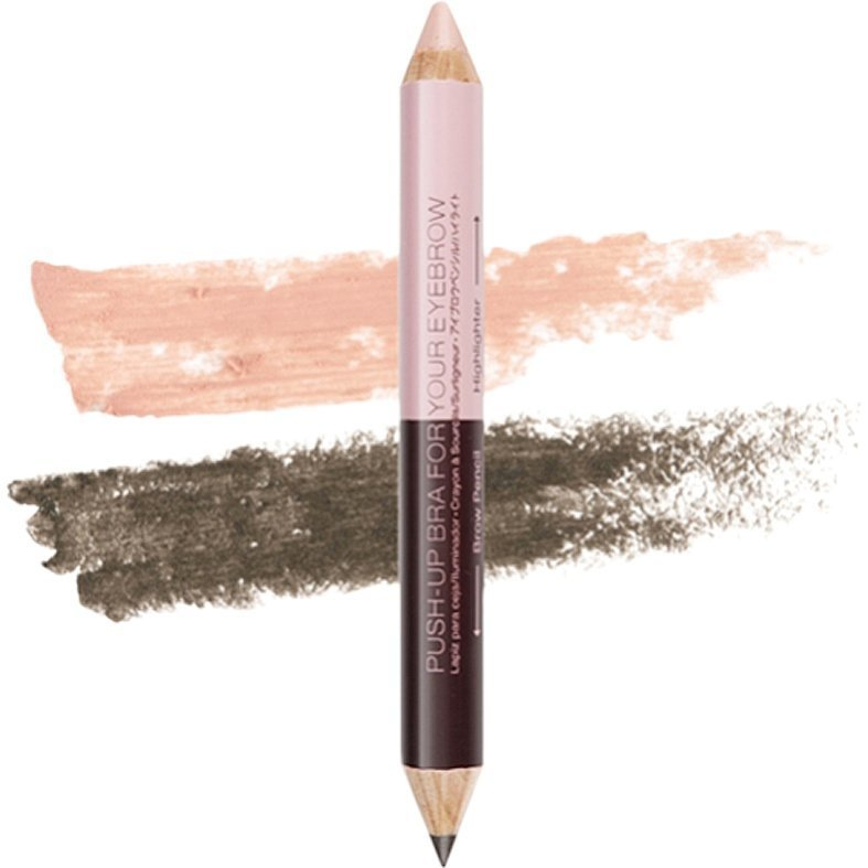 NYX Eyebrow Push-Up Bra EBPB01 Brow Pencil & Highlighter 3