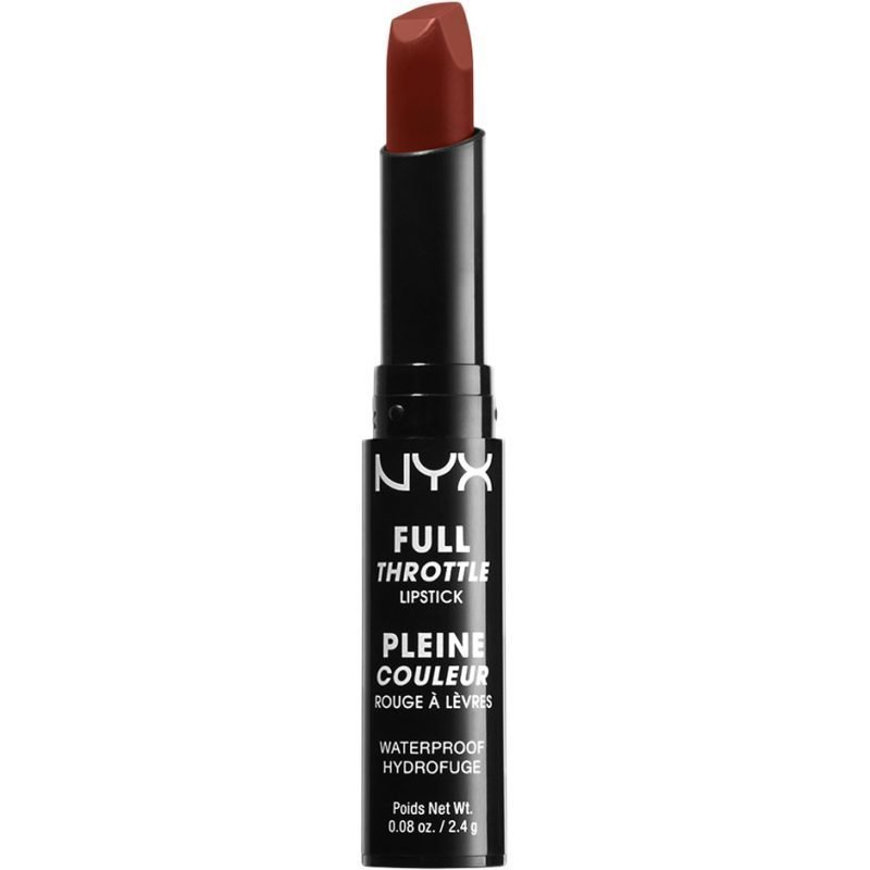 NYX Full Throttle Lipstick FTLS01 Con Artist 2