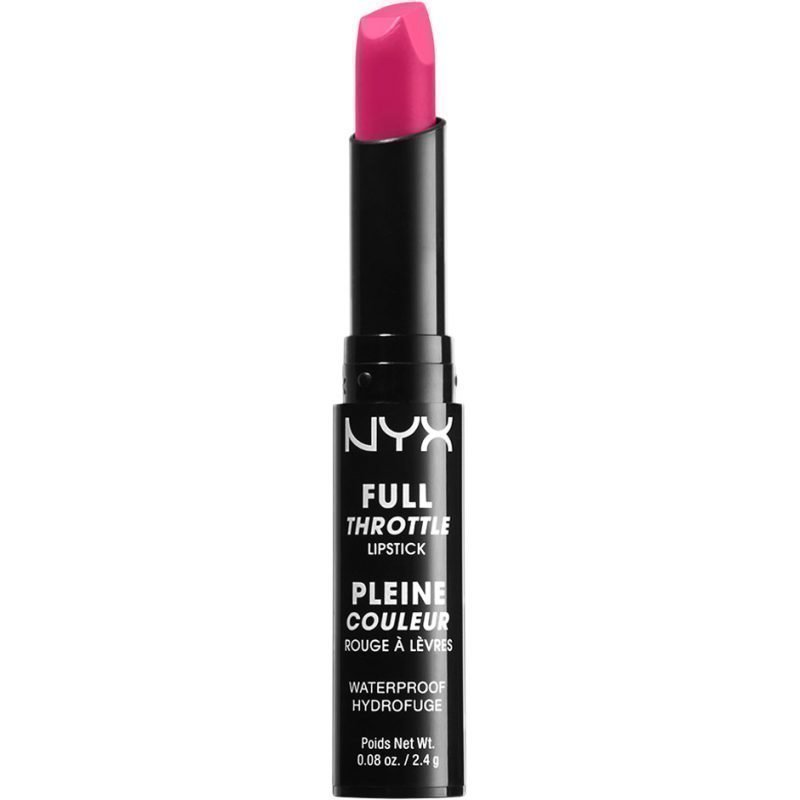 NYX Full Throttle Lipstick FTLS02 Lethal Kiss 2