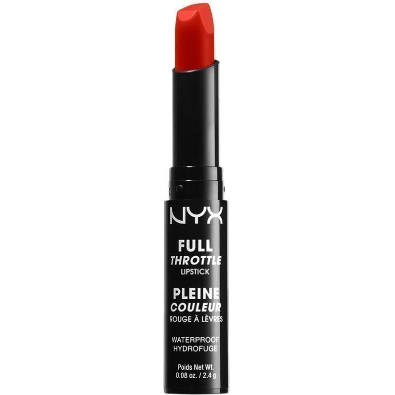 NYX Full Throttle Lipstick FTLS04 Firestorm 2