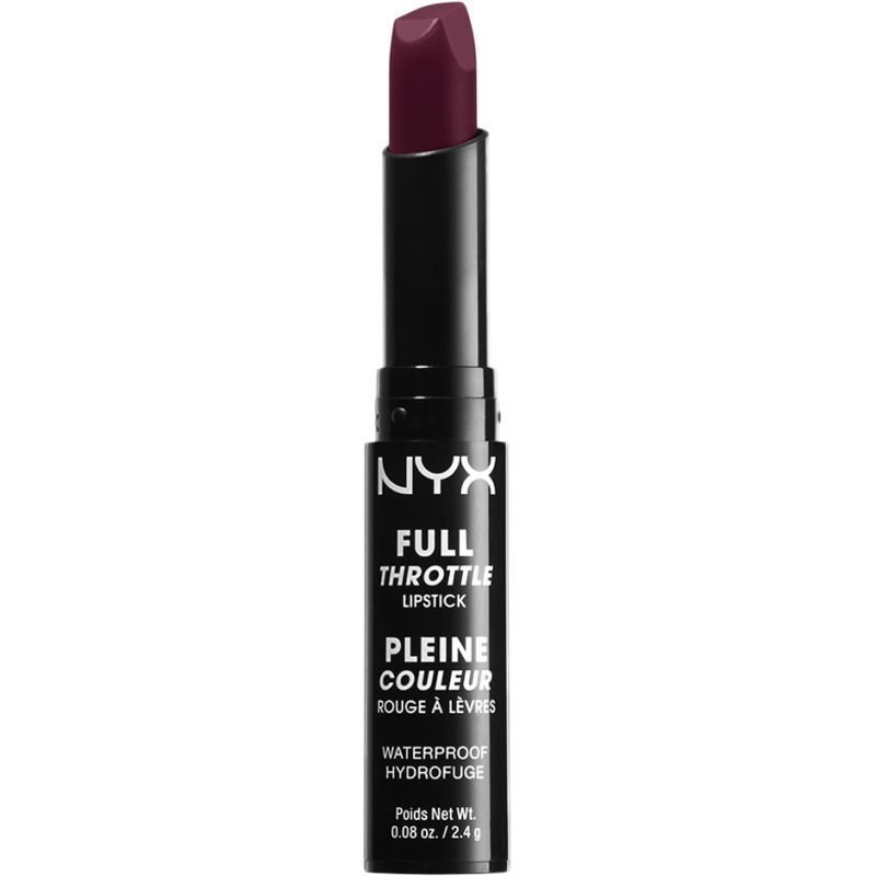 NYX Full Throttle Lipstick FTLS06 Night Crawler 2