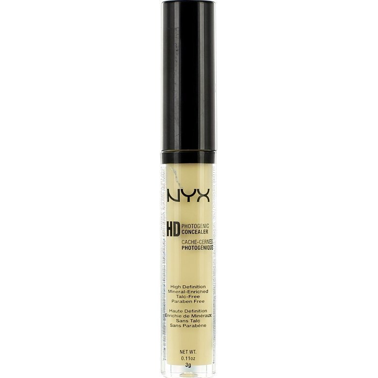 NYX High Definition Photogenic Concealer CW10 Yellow 3g