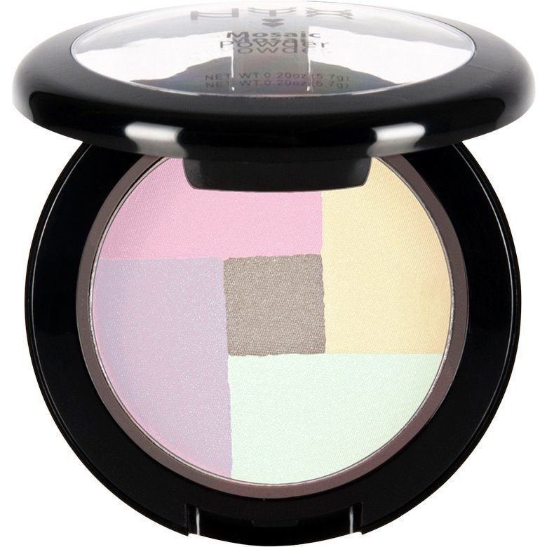 NYX Mosaic Powder Blush MPB01 Highlighter 5