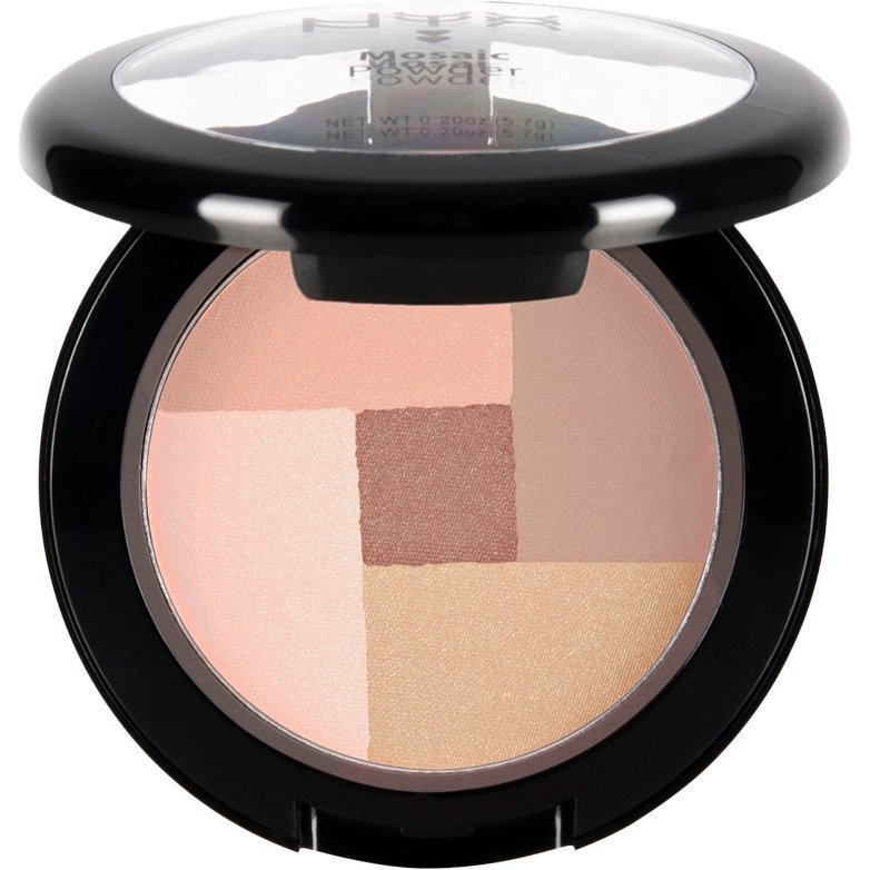 NYX Mosaic Powder Blush MPB04 Peachy 5