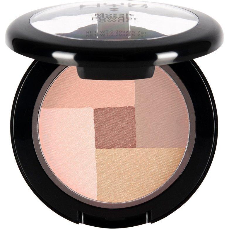 NYX Mosaic Powder Blush MPB04 Peachy 5