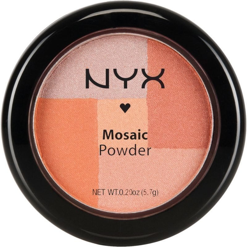 NYX Mosaic Powder Blush MPB05 Silk 5