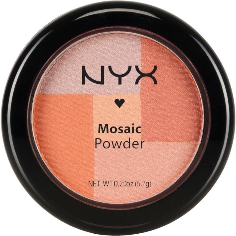 NYX Mosaic Powder Blush MPB05 Silk 5