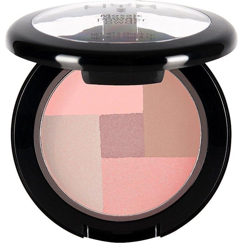 NYX Mosaic Powder Blush MPB10 Love 5