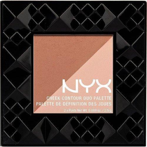 NYX PROFESSIONAL MAKEUP Cheek Contour Duo Palette Cheek on Cheek