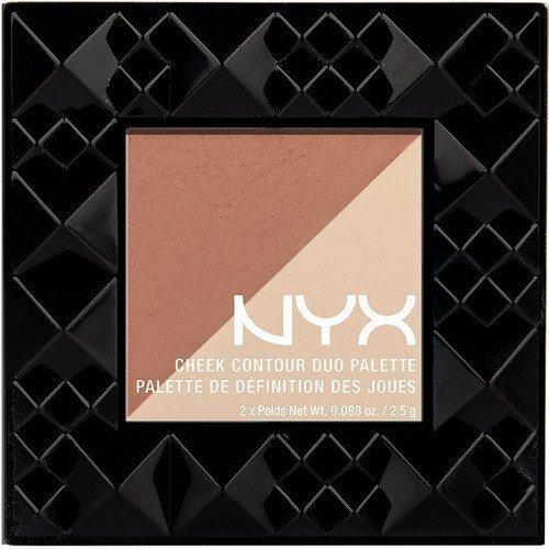 NYX PROFESSIONAL MAKEUP Cheek Contour Duo Palette Double Date