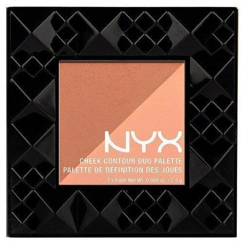 NYX PROFESSIONAL MAKEUP Cheek Contour Duo Palette Two To Tango