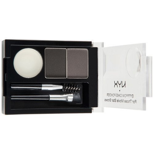 NYX PROFESSIONAL MAKEUP Eyebrow Cake Powder Dark Brown/Brown