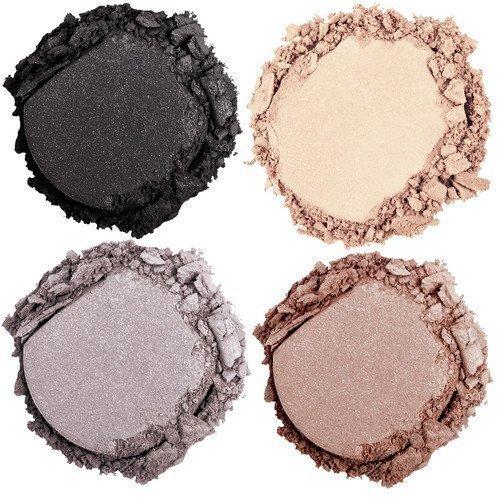 NYX PROFESSIONAL MAKEUP High Hot Singles Eye Shadow Black Grey & Nude Bling