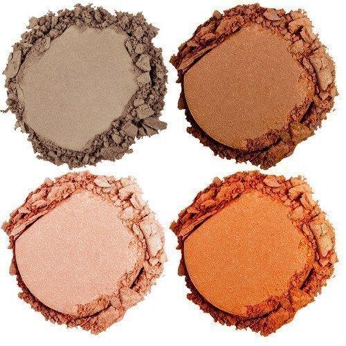NYX PROFESSIONAL MAKEUP High Hot Singles Eye Shadow Brown Orange & Gold Tweed