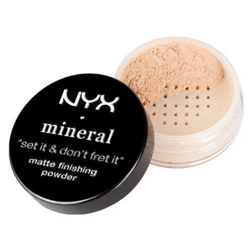 NYX PROFESSIONAL MAKEUP Mineral Matte Finishing Powder Medium/Dark